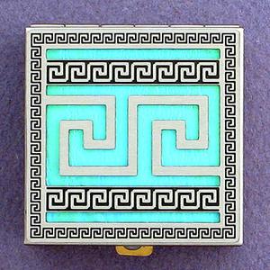 Greek Key Pattern Pill Boxes