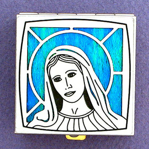 Virgin Mary Pill Boxes