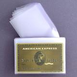 Tri-Fold Wallet Plastic Credit Card Insert