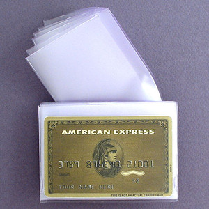 Clear Plastic Wallet Windows For Tri Fold Wallets Kyle