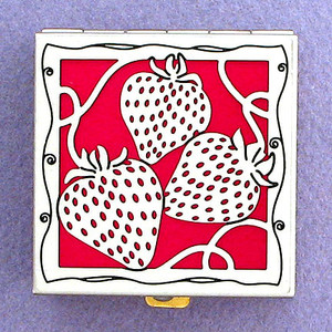 Strawberry Pill Boxes