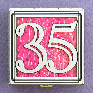 Number 35 Pill Box