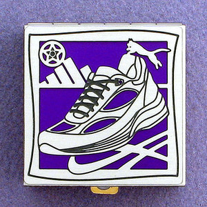 Running Shoe Pill Box