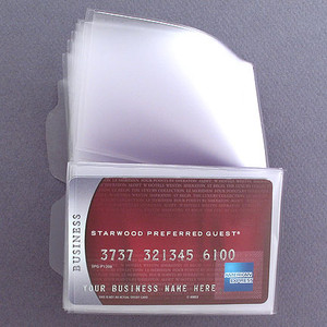 Clear Plastic Wallet Window Inserts Long Vinyl Kyle Design