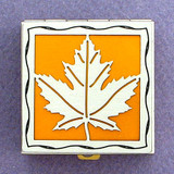 Maple Leaf Pill Box