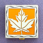 Maple Leaf Pill Box