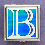 Monogram B Pill Box