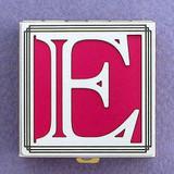 Monogram E Pill Box