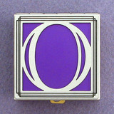 Monogram O Pill Box
