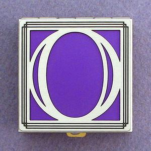 Monogram O Pill Box