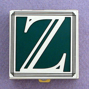 Monogram Z Pill Box