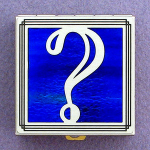 Question Mark Pill Box