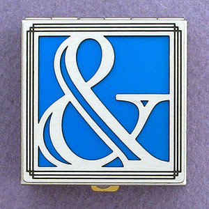 Ampersand Pill Box