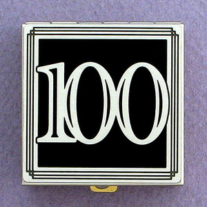 Number 100 Pill Box