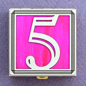 Number 5 Pill Box