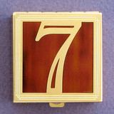 Number 7 Pill Box