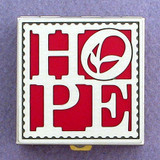 Hope Symbol Pill Box