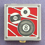 Billiards Pill Box