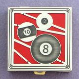 Billiards Pill Box