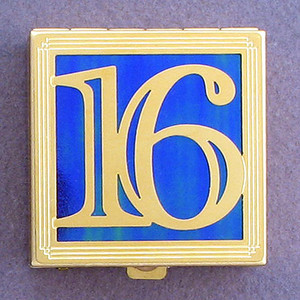 Number 16 Pill Box