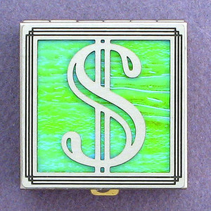 US Currency Symbol Pill Box