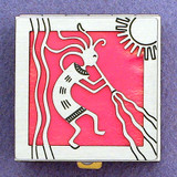 Dancing Kokopelli Pill Box