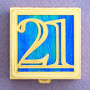 Number 21 Pill Box