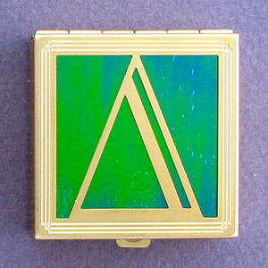 Greek Letter Delta Pill Box