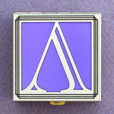 Greek Letter Lambda Pill Box