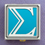 Greek Letter Sigma Pill Box