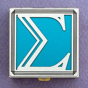 Greek Letter Sigma Pill Box