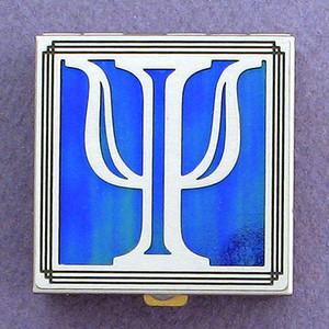Greek Letter Psi Pill Box