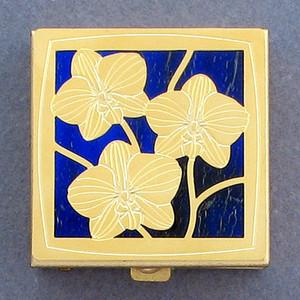 Orchid Pill Box