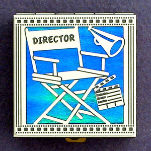 Director's Chair Pill Box