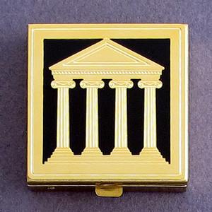 Classic Architecture Pill Box