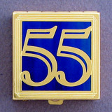 Number 55 Pill Box