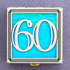 Number 60 Pill Box