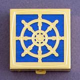 Captain's Wheel Pill Box