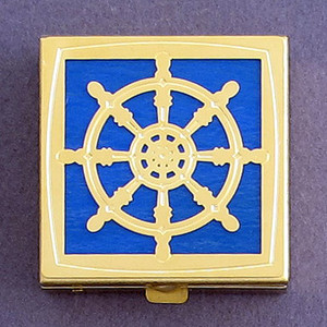 Captain's Wheel Pill Box