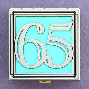 Number 65 Pill Box