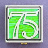 Number 75 Pill Box