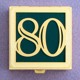 Number 80 Pill Box
