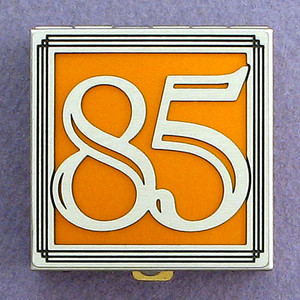 Number 85 Pill Box