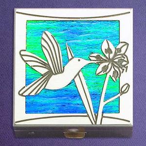 Hummingbird Pill Box