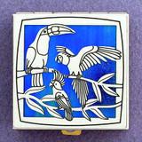 Toucan & Parrot Pill Box
