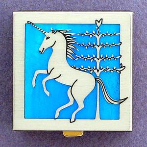 Customize a Unicorn Pill Case