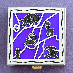 Ancient Rock Art Pill Box