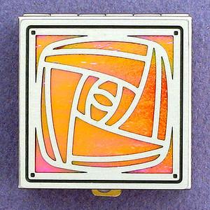 Craftsman Rose Pill Box