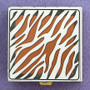 Tiger Stripe Pill Box