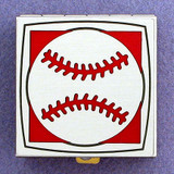 Baseball Pill Box